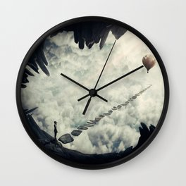 pathway to my dream Wall Clock