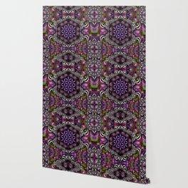 Flower of Life - purple Wallpaper