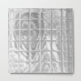 Square Glass Tiles 253 Metal Print