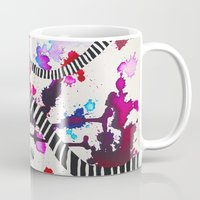 splash Mugs featuring Splash by DuckyB