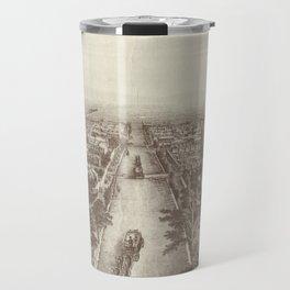 Vintage Pictorial Map of Salt Lake City (1867) Travel Mug