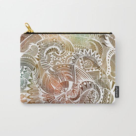 Batik Carry-All Pouch