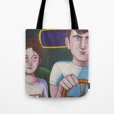 Kids In Cars Tote Bag