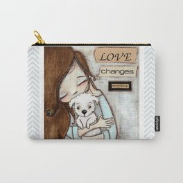 Love Changes Everything by Diane Duda Carry-All Pouch