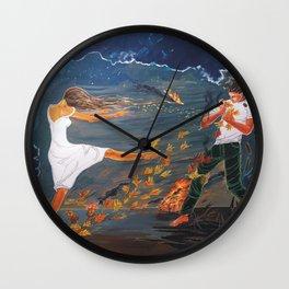 Incendiary Wall Clock
