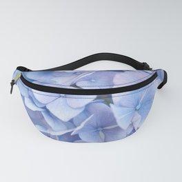 Blue Hydrangeas #3 #decor #art #society6 Fanny Pack