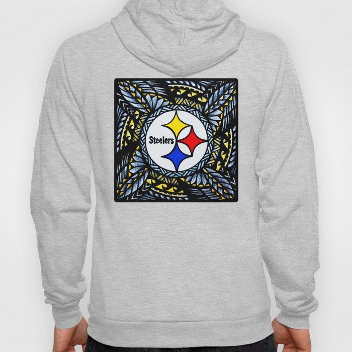 New Tribal Steelers Hoody