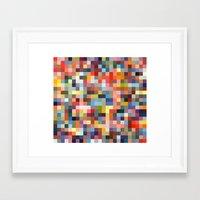 sprinkles Framed Art Prints featuring Sprinkles by Stuff.