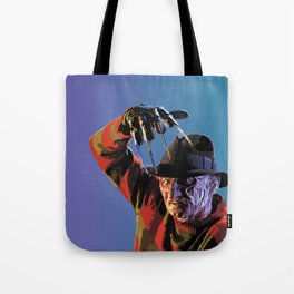 Three,Four, Better Lock Your Door Tote Bag