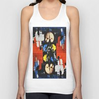bond Tank Tops featuring Bond by Alexander Ikhide