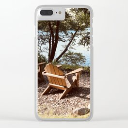 Front Row Seats at the Lake Clear iPhone Case