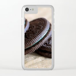Mint Oreos Clear iPhone Case