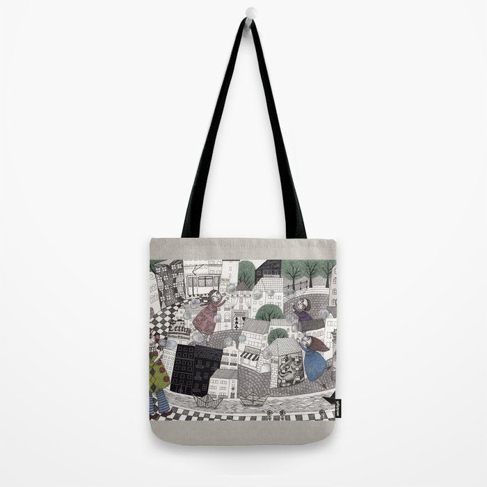 Catch Them if you Can Tote Bag