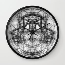 Ritual Eye Wall Clock
