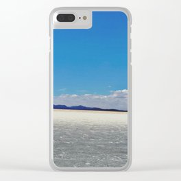Salt Flats Clear iPhone Case