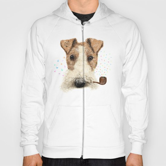 fox terrier sailor Hoody