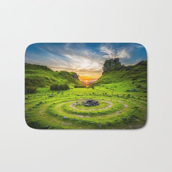 Enchanted Landscape Mood Bath Mat