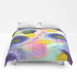 blue spoties Comforters