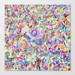 No Ugly Colors Canvas Print