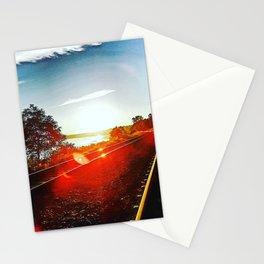 Sunset Railway Stationery Cards