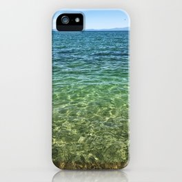 Keep Tahoe Ombre iPhone Case