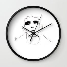 Lou Reed Wall Clock