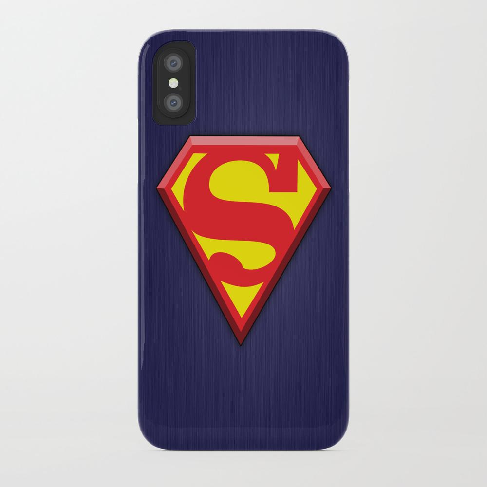 Super Hero Super Man Phone Case by Zgovitz PCS8376632