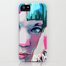 Grimes iPhone Case