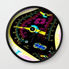 Inflation Index Wall Clock