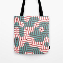 SLANTED #1 Tote Bag