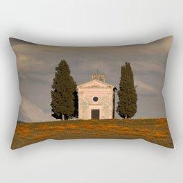 White Chapell Rectangular Pillow