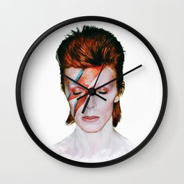 Bowie Tribute Wall Clock