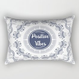 Positive Vibes Rectangular Pillow