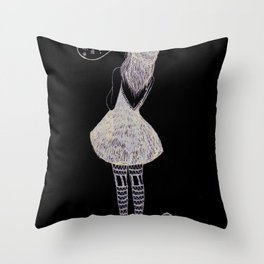 Snow? Throw Pillow