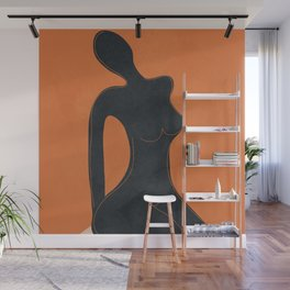 Abstract Nude II Wall Mural