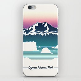 Olympic National Park iPhone Skin