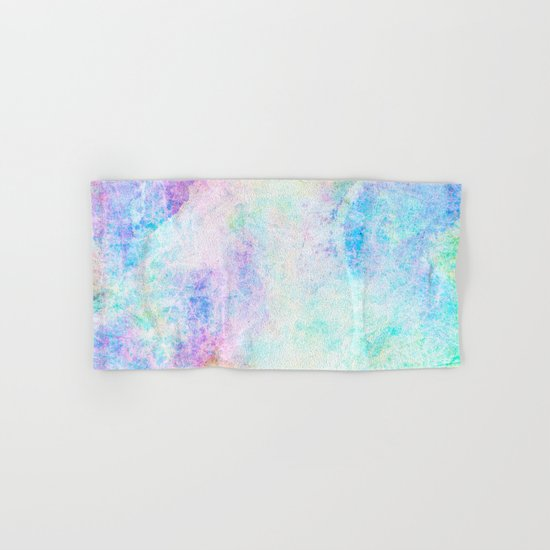 Pastel Color Splash 04 Hand & Bath Towel