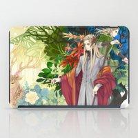 legolas iPad Cases featuring Thranduil & Legolas by kagalin