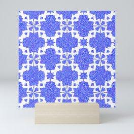 Vibrant Colorful Kaleidoscope Mini Art Print