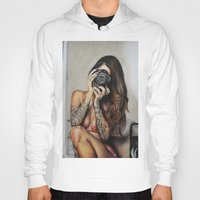 hello beautiful Hoodies featuring Hello Beautiful by Kim Maria Morrow