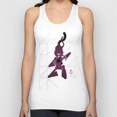 CHAM.AN.DROID Unisex Tank Top