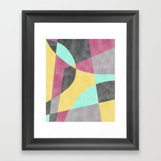 Fragments II Framed Art Print