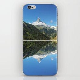 Zermatt Skies iPhone Skin