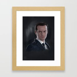 The Consulting Criminal Framed Art Print