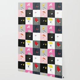 Australian cockatoos tile pattern Wallpaper
