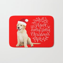 Have A Holly Jolly Christmas Bath Mat