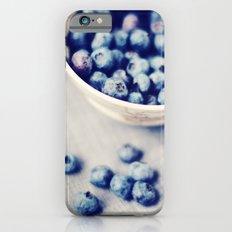 Fresh Blueberries Kitchen Art Slim Case iPhone 6s