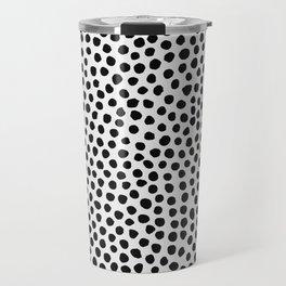 Dots Pattern Travel Mug