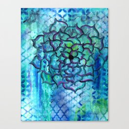 Blooming Soul Canvas Print