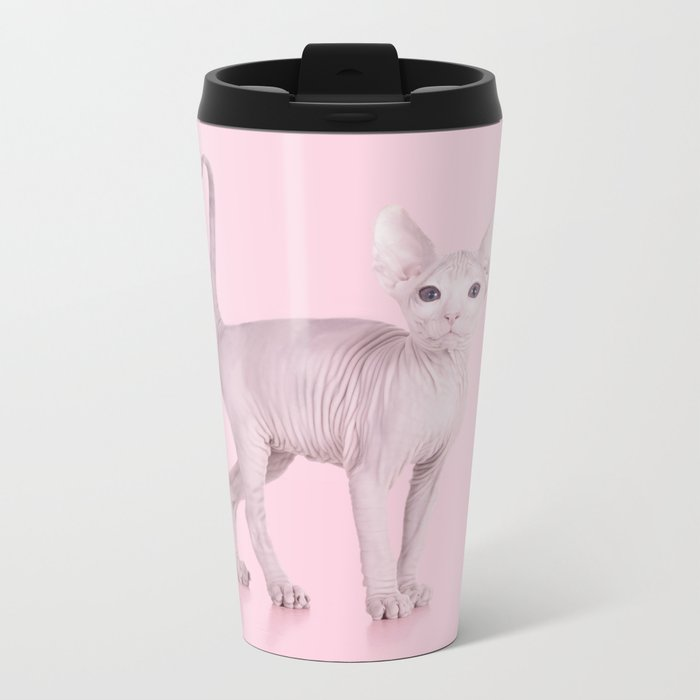 ALBINOCAT Metal Travel Mug